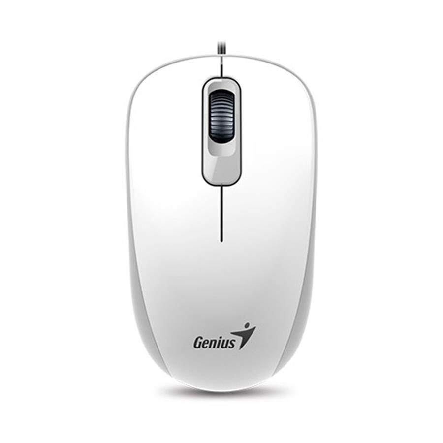 MOUSE GENIUS DX-110 USB WHITE